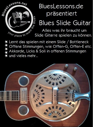 Slide Gitarren Ebook Cover